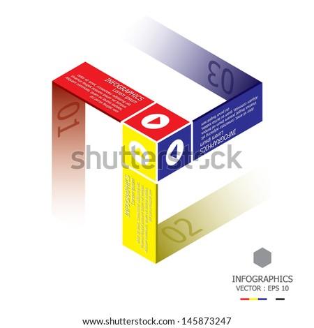 modern cube template
