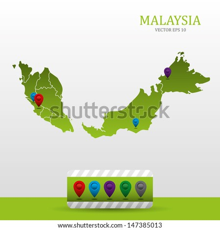 Malaysia map free vector download 2337 Free vector for