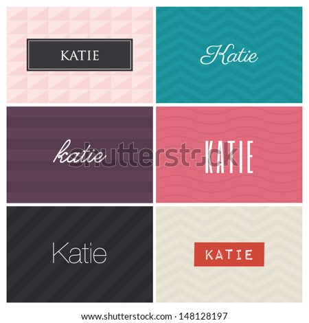 name katie  graphic design