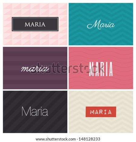name maria  graphic design