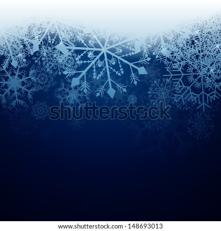 vector illustration of a winter