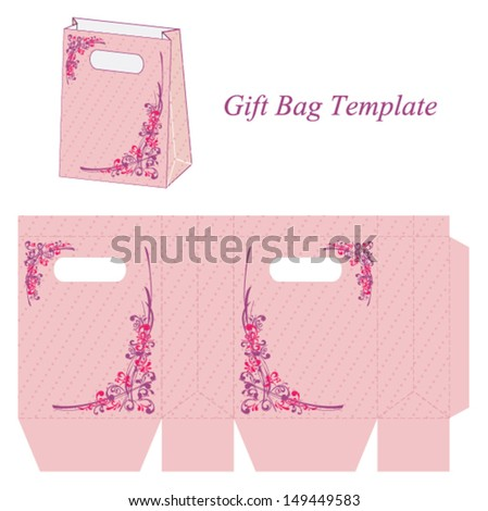 gift bag template free psd download 295 free psd for commercial