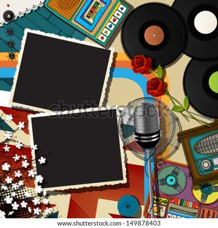 retro style musical theme