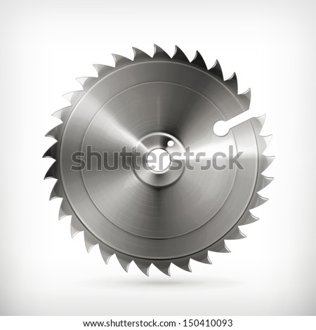 circular saw blade  vector