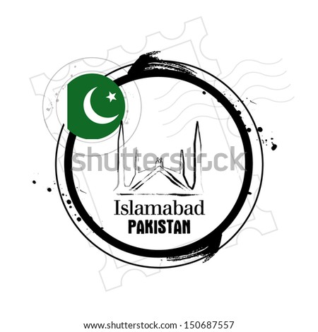 stamp islamabad  capital of