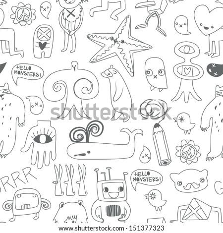 cute monsters and freaks