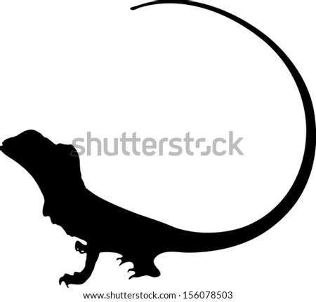 vector graphic outline of a