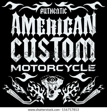 american custom   chopper