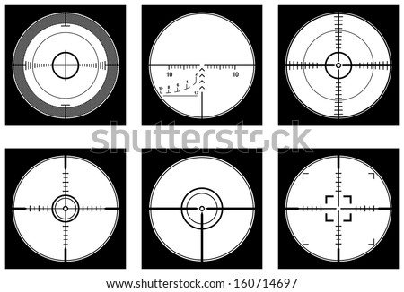 crosshairs  optical sight or