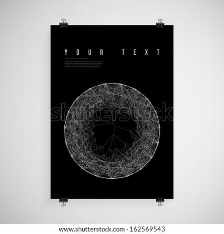 a4   a3 format black paper