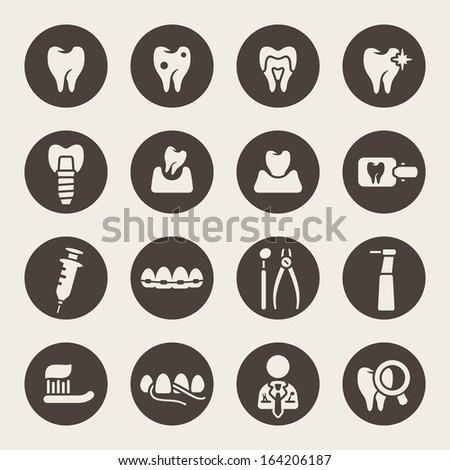 dental theme icons