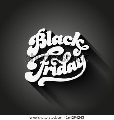 black friday vector vintage