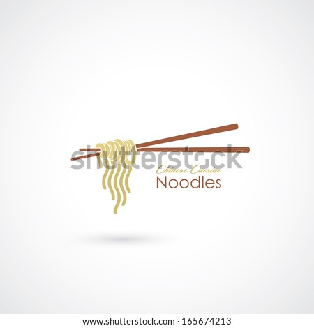 chinese noodles   vector
