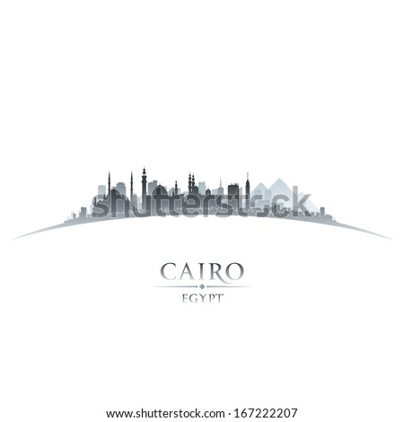 cairo egypt city skyline