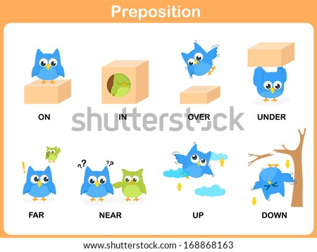 Next to Preposition Clipart in Preposition Clipart