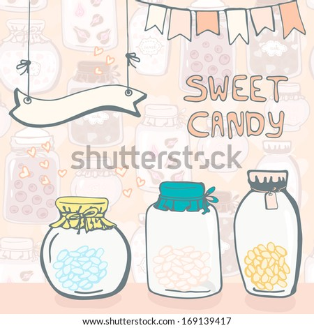 cure sweet card template with