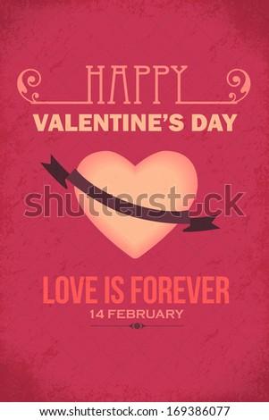 valentine's day flyer poster