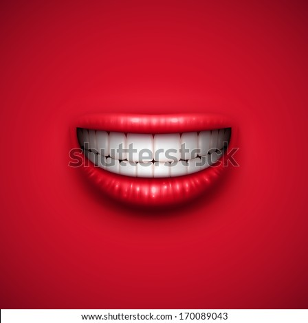 abstract smile background  eps