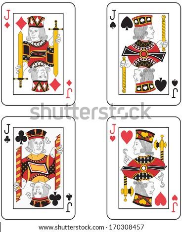 four jacks original design