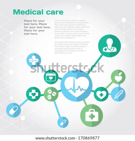 medical health care background
