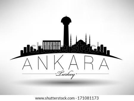 modern ankara city skyline