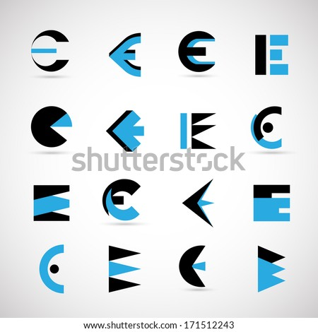 letter e logo free vector download 70 078 free vector for