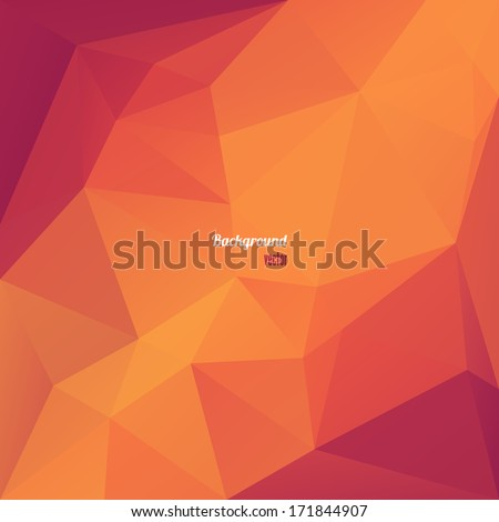 abstract triangle geometrical