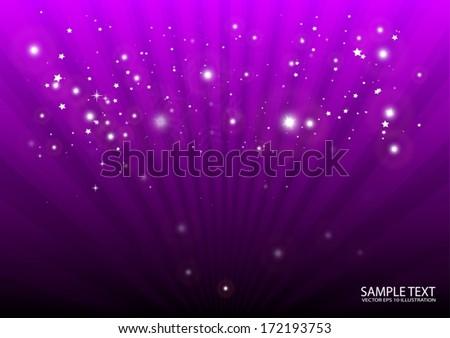 purple vector background burst