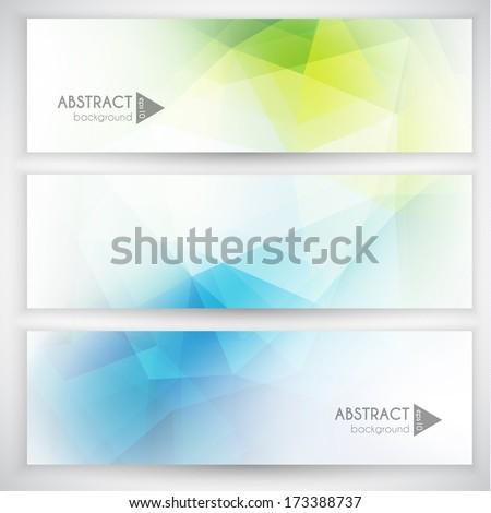 abstract geometric triangular
