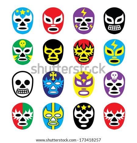 lucha libre  luchador  mexican