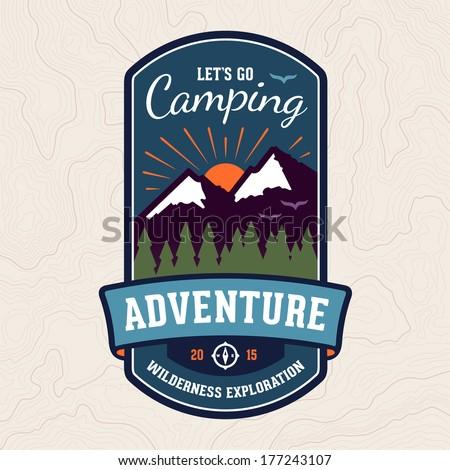 camping wilderness adventure