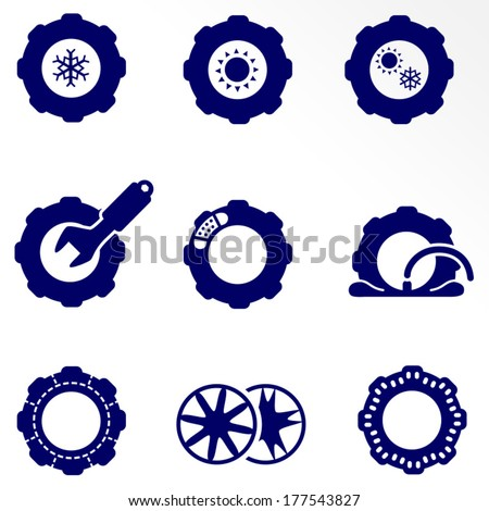 car parts such as tires and