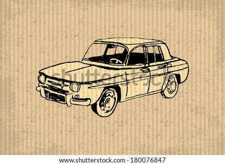 old timer   renault 8 gordini