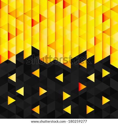geometric mosaic pattern from