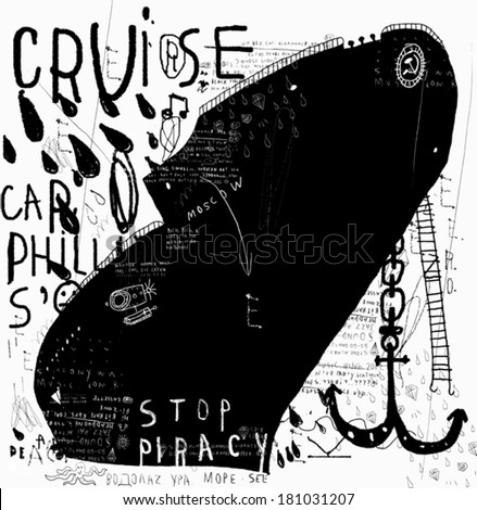 symbolic image of a ship to a