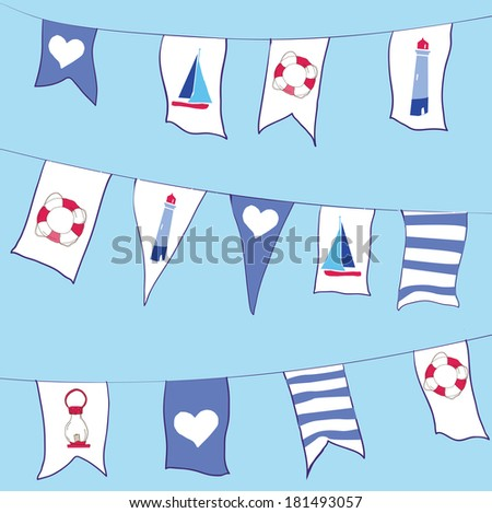 flag vector pattern