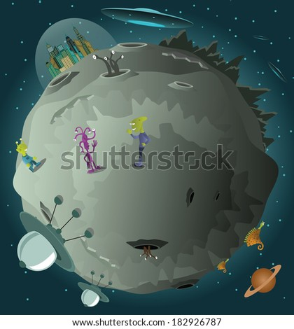colonization of the planet