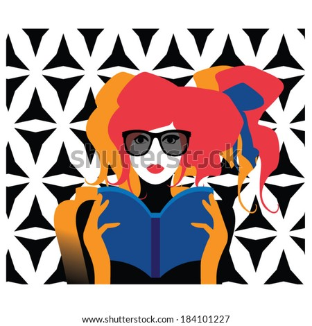 vector illustration fashionable