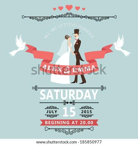 wedding invitation card