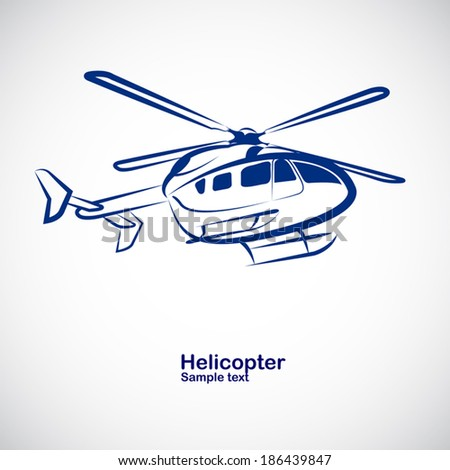 helicopter in perspective