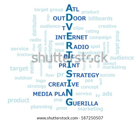 advertising word graphic atl