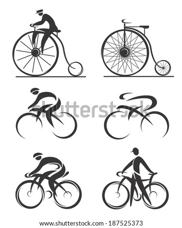 cycling differently styled
