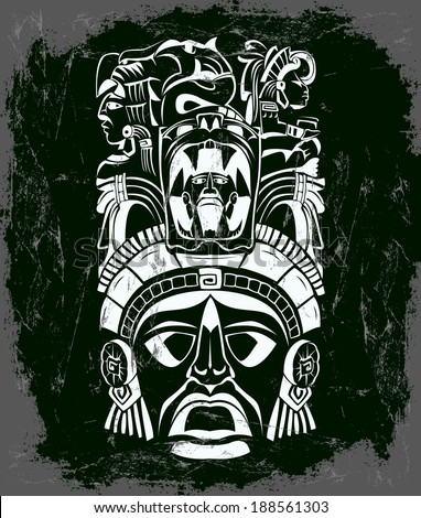 Vector Aztec Glyphs Free Vector Download 19 Free Vector For