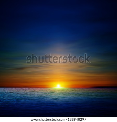 abstract ocean background with