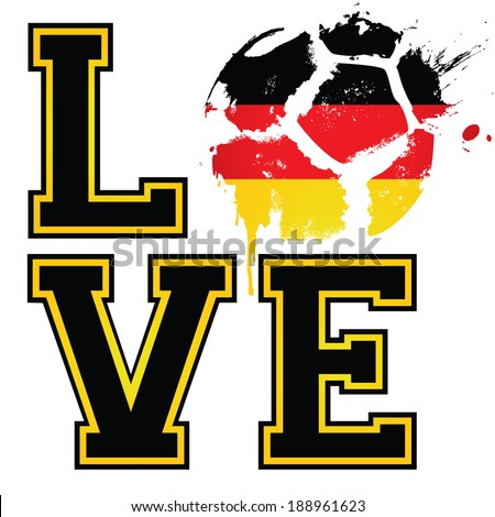 i love german football   soccer