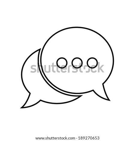 chat icon  vector