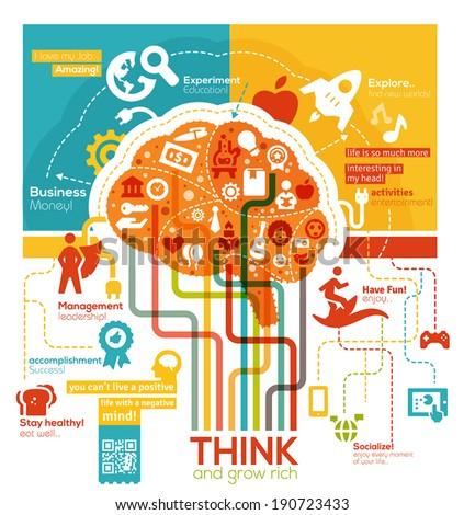 creative brain illustration