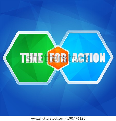 time for action   business