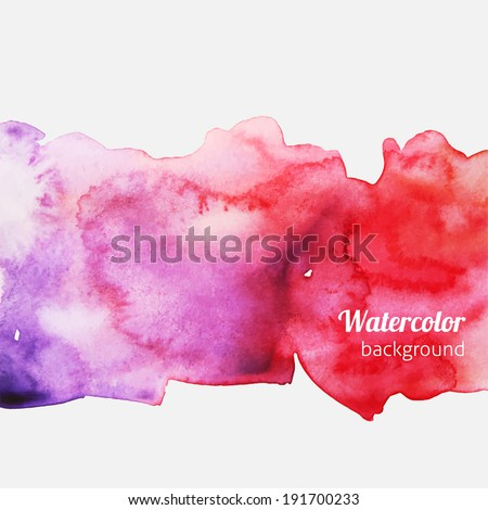 watercolor splatter pink and