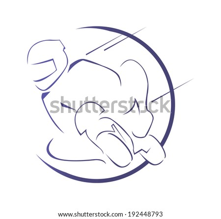 moto race symbol